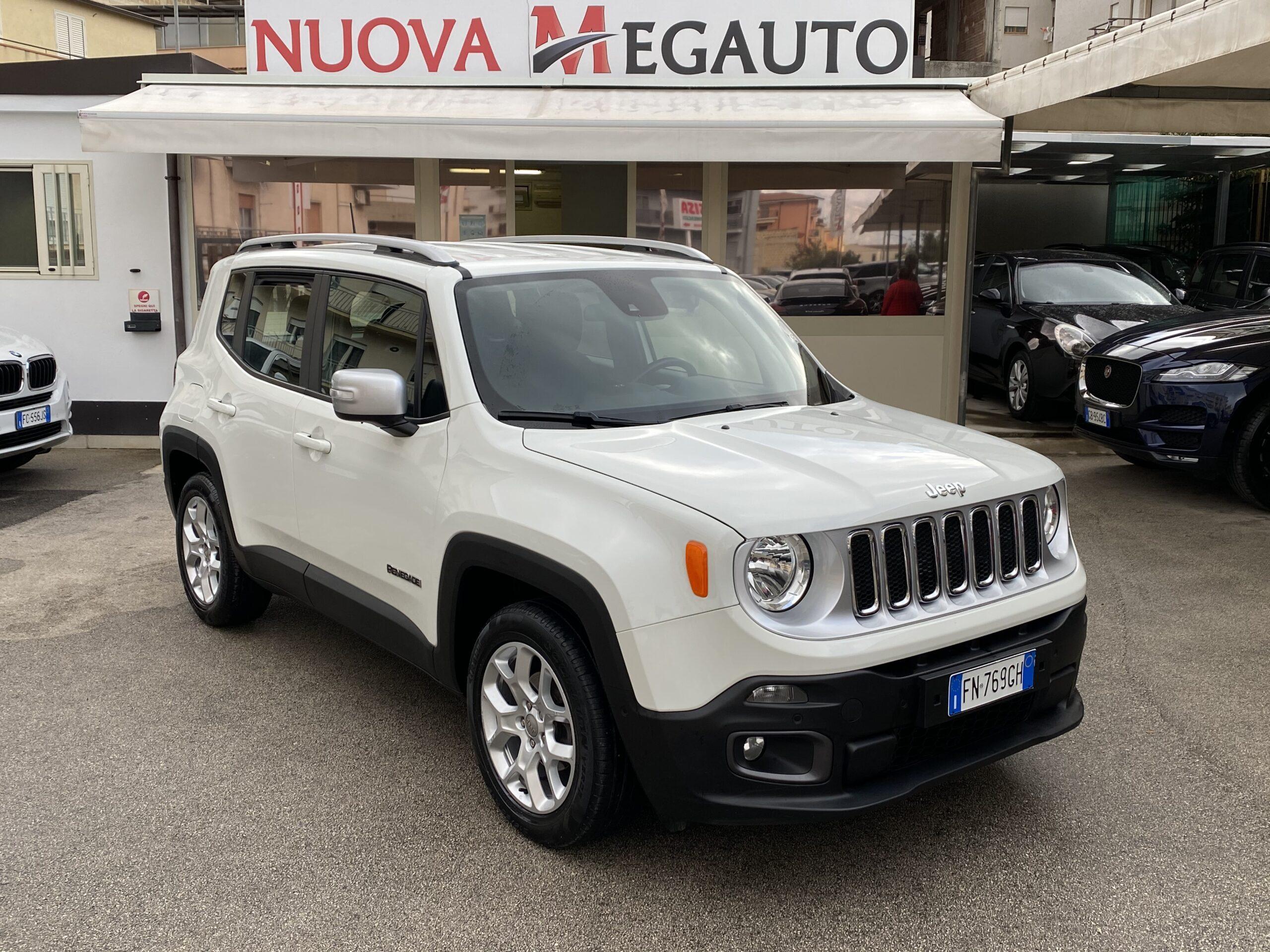 Jeep Renegade 1.6 Mjt 120 CV Limited 2018