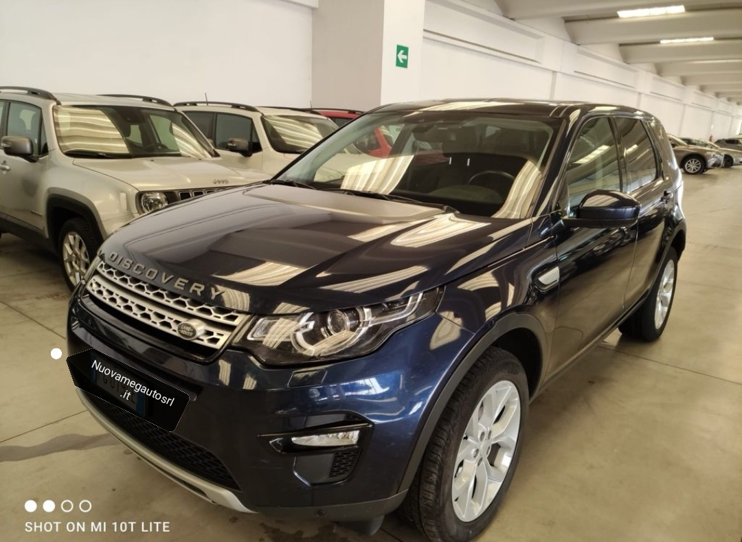 Land Rover Discovery Sport 2.0 TD4 150 CV HSE – N1 Autocarro